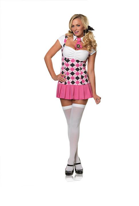5ddc0ff37 Prep School Sexy Womens High School Uniform Costume